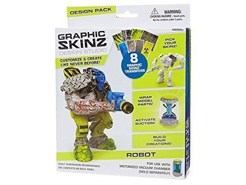 Graphic Skinz Design Studio ROBOT by Mega Mega Mega Brands 06cb3e