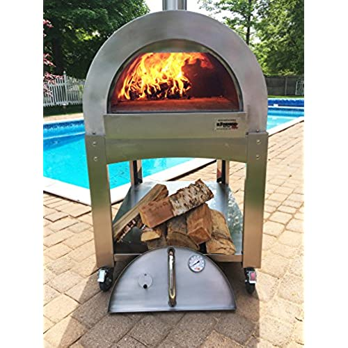 Great Outdoor Kitchen Complete With Pizza Oven: Outdoor Brick Pizza Oven: Amazon.com