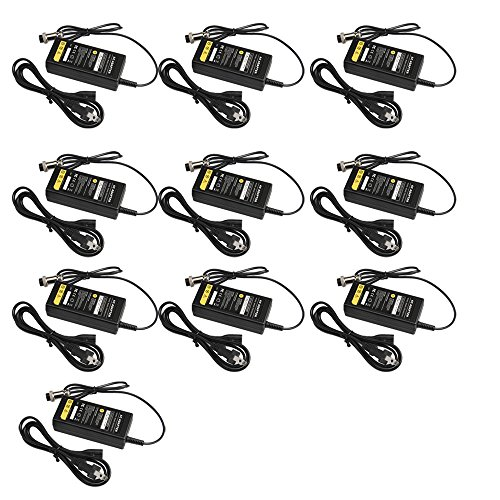 TREE.NB Pack-10 24V 2A Scooter Battery Charger for E-Scooter Freedom 644 Freedom 943 Freedom 961 by TREE.NB