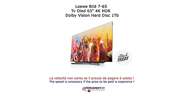 Loewe Bild 7.65 TV OLED 65 4 K Ultra HD HDR Dolby Vision Disco Disc 1TB: Amazon.es: Electrónica