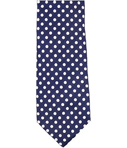 Sean John Mens Polka Dot Necktie Blue One Size