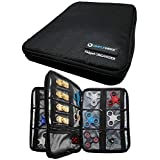 Simple Werx Fidget Spinner Case, Organizer Case, Carrying Case | Holds over 24+ Fidgets | Spinners | Cubes | Double Layer | Holder | Box | Bag
