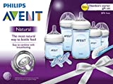 Philips Avent Natural Baby Bottle Blue Gift