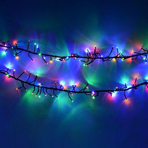multi colour 960 led cluster christmas lights buy online. Black Bedroom Furniture Sets. Home Design Ideas