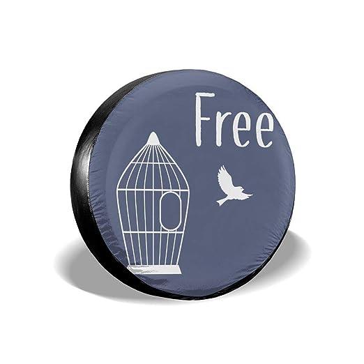 Silueta de jaula de pájaros universal para rueda de repuesto ...