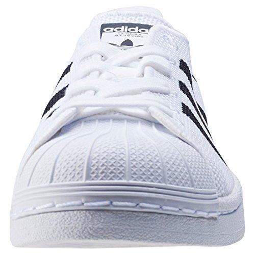 ADIDAS-superstar elasticizzata bianca