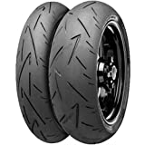Continental Conti Sport Attack 2 Tire - Rear - 180/55ZR-17 , Position: Rear, Tire Size: 180/55-17, Rim Size: 17, Load Rating: 73, Speed Rating: (W), Tire Type: Street, Tire Construction: Radial, Tire Application: Race 02440110000