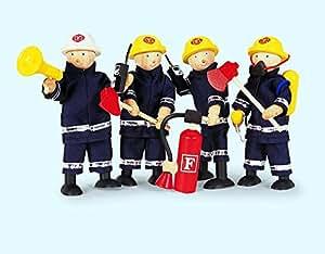 Muñecos de bomberos