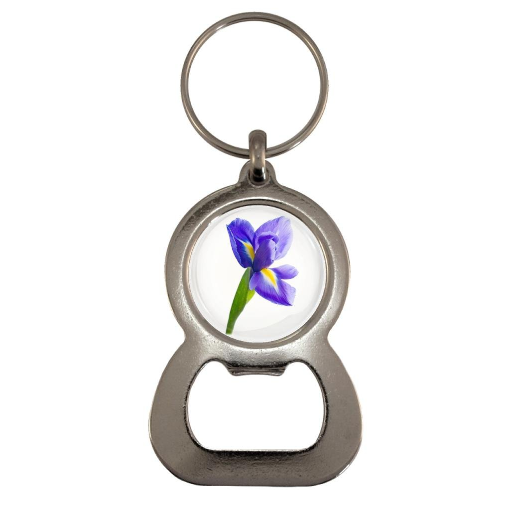 Iris Image Metal Bottle Opener Keyring in Gift Box