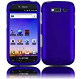 galaxy blaze cover - For T-mobil Samsung Galaxy S Blaze 4g T769 Accessory - Blue Hard Case Protector Cover + Lf Stylus Pen