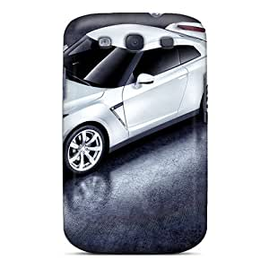 Defender Case For Galaxy S3, White Nissan Gtr Pattern