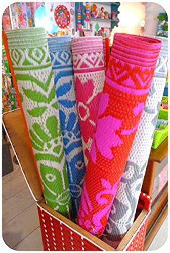 plastic floor mat plastic mat chatai multi color and design export quality - Plastic Floor Mat