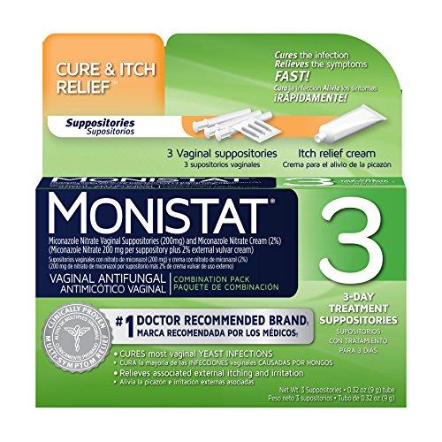 Monistat Antifungal Combination Suppositories Applicators product image
