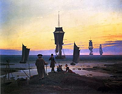 The stages of Life by Caspar David Friedrich. 100% Hand Painted. Oil On Canvas. Reproduction. (Unframed and Unstretched).