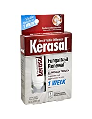 Kerasal Fungal Nail Renewal Treatment 10ml, Restores the heal...
