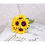 molliy-6-pcs-artificial-sunflowers-preserved-flowers-bouquet-bride-bridesmaid-holding-flowers-large-bulk-for-home-hotel-office-wedding-party-garden-craft-art-decor