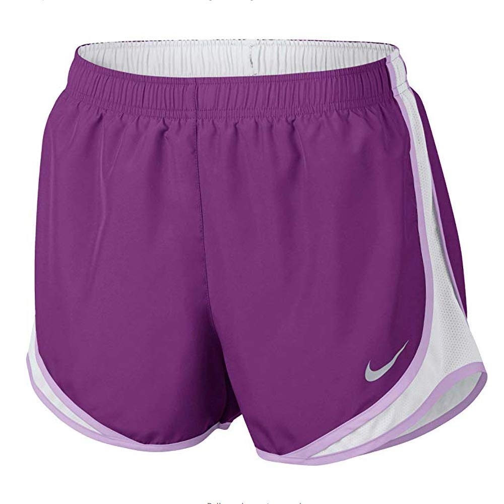 NIKE Women's Dry Tempo Running Short (Bold Berry/White, X-Large) by Nike (Image #1)