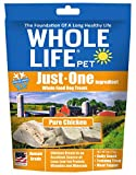 Whole Life Pet Just One-Single Ingredient Freeze Dried Treats For Dogs Pure Chicken Breast, 4Oz