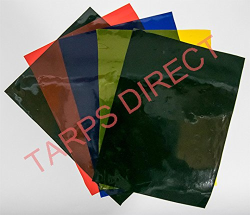 Clear Translucent Welding Curtain Flame Retardant 14 MIL - 64 Inch by 25 Yard (75 Foot) Roll by TarpsDirect
