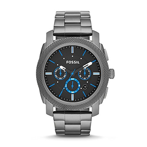 Fossil Men's Machine Stainless Steel Chronograph Quartz Watch 1