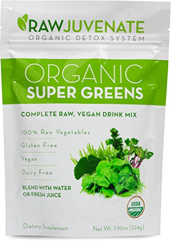 Raw Green Organics - RawJuvenate - Organic Super Greens -...