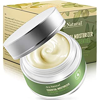 All Natural Face Moisturizer Day Cream - Vegan Daily Anti Aging Face Firming and Tightening Cream Facial Moisturizer for Dry Skin (Premium)