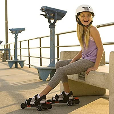 Cardiff Skate Co. Youth S-Series S3 Skates, Red : Sports & Outdoors