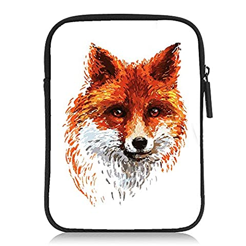 Neafts Kindle (6 Inch) Sleeve,Colored Fox Neoprene Cases Covers Bags for Amazon Kindle Paperwhite / Kindle Voyage / Kindle 8th Generation(2016) / Kindle Oasis (Waterproof Kindle Voyage Case)