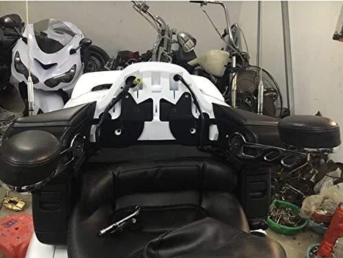 1 paire d/'accoudoirs r/églables pour H-O-N-D-A GL1800 Goldwing 2001-2017 Artudatech Accoudoir de moto