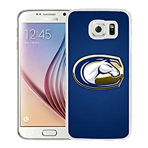 NCAA UC Davis Aggies 10 White Hard Shell Phone Case For Samsung Galaxy S6