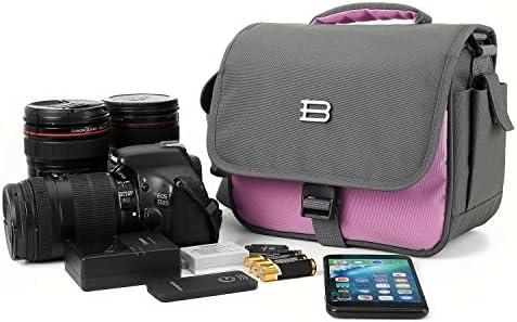 bagsmart Digital SLR/DSLR cámara compacta bolsa de hombro, viaje ...