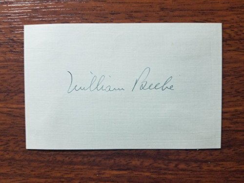 """Founder of Ecology"" William Beebe Hand Signed Index Card Todd Mueller COA from Unknown"