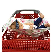 Binxy Baby Shopping Cart Hammock (Full Bloom)