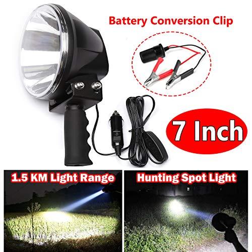 Powerful 100W 10000LM LED Flashlight 7...
