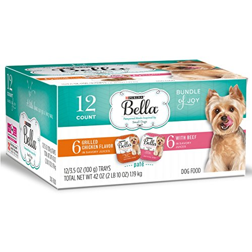 Wholesale Bella (Purina Bella Bundle Of Joy With Grilled Chicken & Beef Flavors Adult Wet Dog Food Variety Pack - (12) 3.5 Oz. Trays)