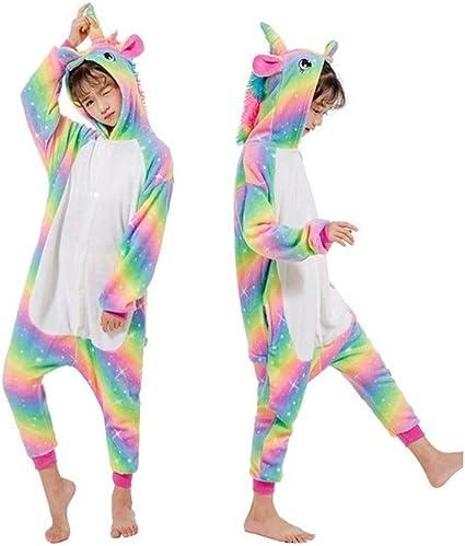 SOHOH Pijama Unicornio Kigurumi Invierno de los niños Ropa de ...