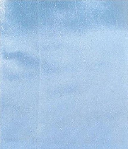 (Solid Taffeta Fabric - Baby Blue - Sold By The Yard 58