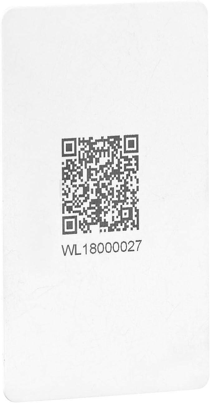 VisorTech Serrure automatique connect/ée avec cl/és RFID