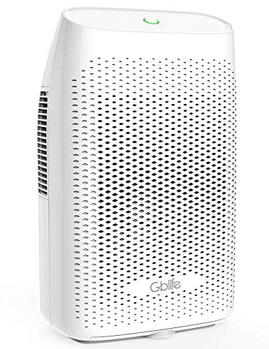 GBlife Electric Dehumidifiers for Home Basement, 2000ml 68oz Capacity Up to 2200 Cubic Feet 269 sq.ft , Auto Off Portable Dehumidifier for Bedroom, RV, Bathroom