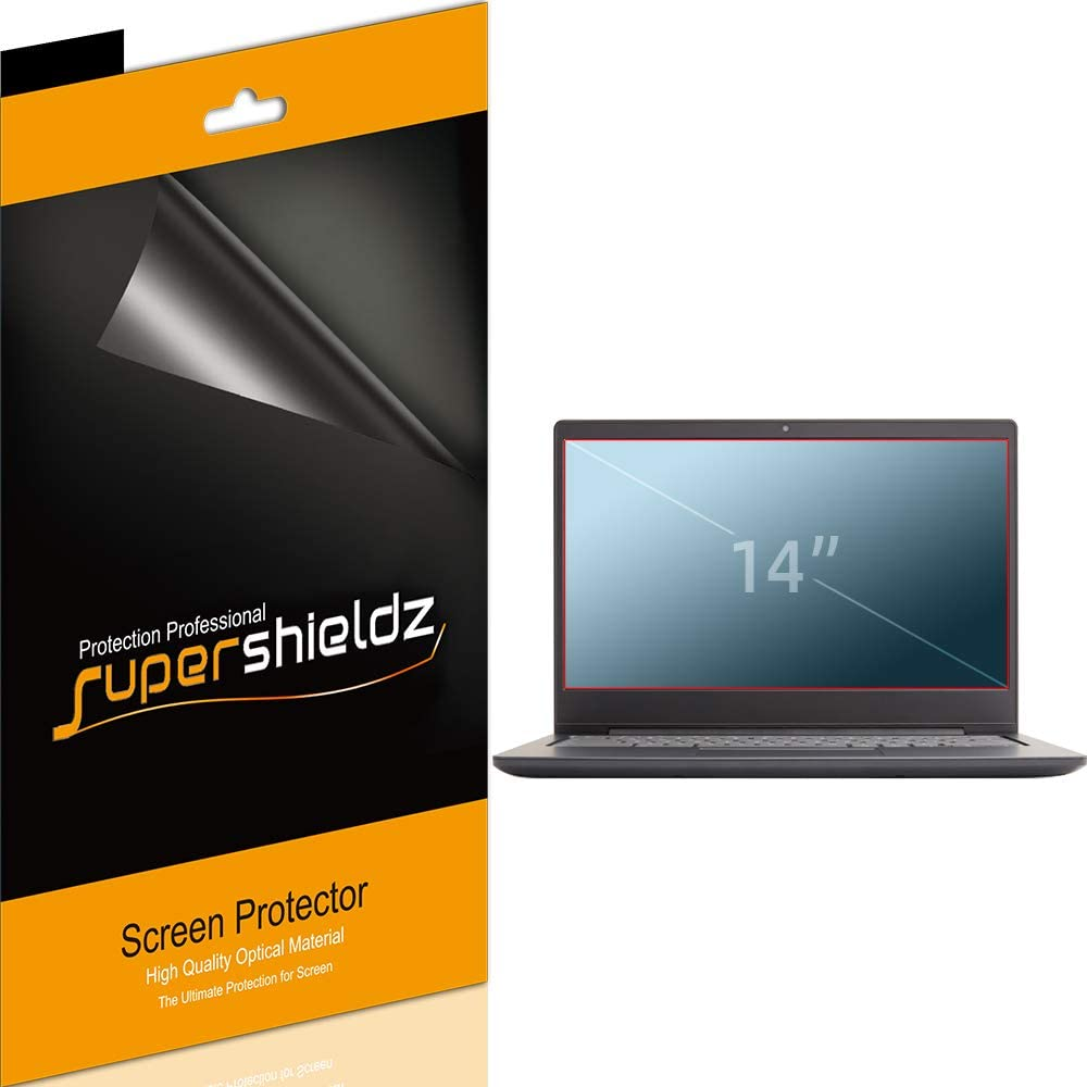 (3 Pack) Supershieldz for Lenovo Yoga 14, Lenovo Flex 14, Lenovo Chromebook S330 and S340 (14 inch) Screen Protector, Anti Glare and Anti Fingerprint (Matte) Shield