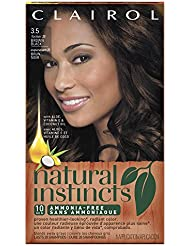 Clairol Natural Instincts Haircolor 3.5 Brown Black 1 Each