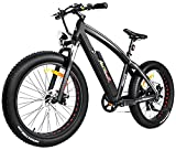 Addmotor MOTAN Electric Bicycles Mountain Fat Tire 26 Inch Power Electric Bikes Removable 48V 10.4AH Lithium Battery M-560 Ebikes For Adults(Red) Review