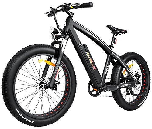 Addmotor MOTAN Electric Bikes Mountain Fat Tire 26 Inch Power Electric Bicycles 500W Motor 48V 10.4AH Lithium Battery All Terrain E-bikes M-560 Snow Beach Ebikes For ()