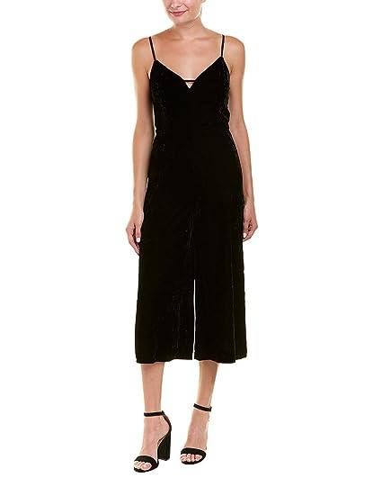ee424187fd9 Amazon.com  Ella Moss Womens Velvet Keyhole Velvet Jumpsuit  Clothing