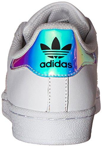 Sneaker Superstar Adidas Kids Bianco / Bianco / Argento Metallizzato