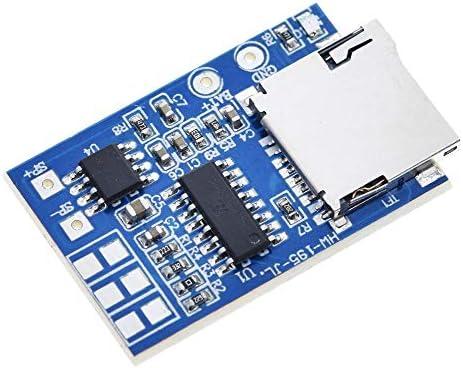 XueQing Pan For のGM電源用GPD2846A TFカードMP3デコーダボードアンプモジュール2Wオーディオプレーヤーモード