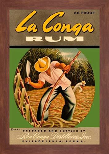 La Conga Rum by Vintage Booze Labels - 27