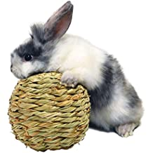 Peters Woven Grass Play Ball for Rabbits