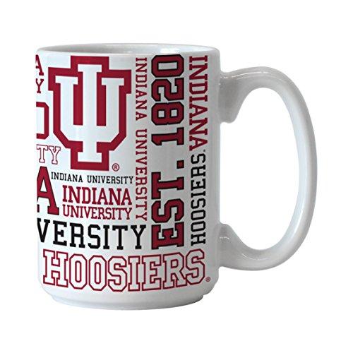 NCAA Indiana Hoosiers Spirit Mug, 15-ounce