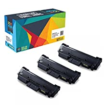 Do it Wiser Compatible Black Toner Cartridge for Samsung MLT-D116L Xpress SL-M2625 M2875FW M2625D M2825DW M2835DW M2875FD M2885FW - Yield 3,000 pages (3 Pack)